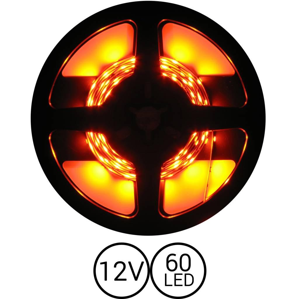 PowerLED Oranje 0,5 t/m 2,5 Meter 60LED 12 Volt
