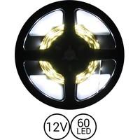 PowerLED Koud Wit 0,5 t/m 2,5 Meter 60LED per meter 12 Volt