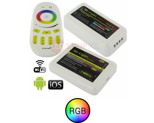 Milight RGB LEDStrip 4-Zone RF controller en WiFi module SET