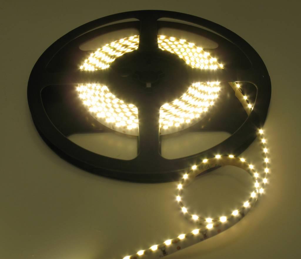 LEDStrip Side View Helder Wit 5 meter 12V 120 LED
