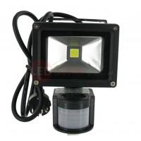 LED Bouwlamp Helder Wit 10 Watt met PIR bewegingssensor