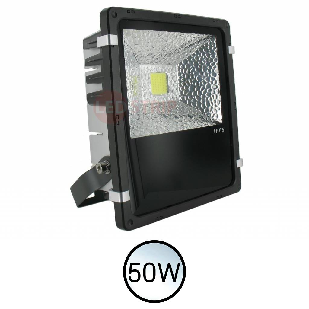 led bouwlamp floodlight helder wit 50 watt ledstripxl. Black Bedroom Furniture Sets. Home Design Ideas