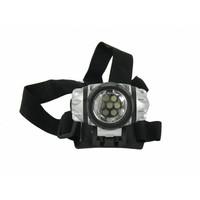 LED Hoofdlamp wit met band en 7 LEDs