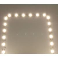 Power LEDStrip Warm Wit Buigbaar S-Shape 5 meter