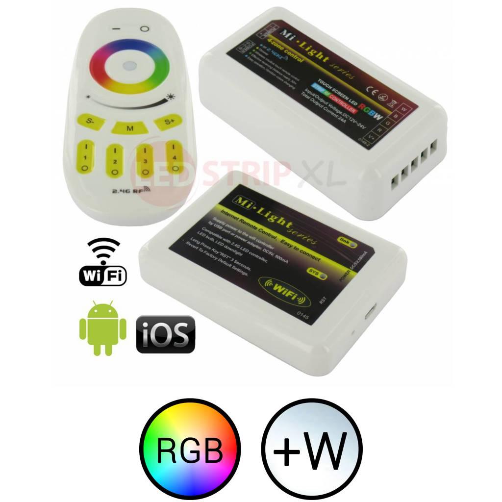 Milight LEDStrip RGBW 4-Zone RF+WiFi SET