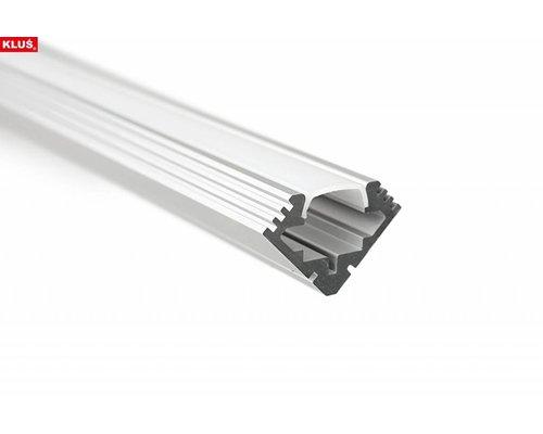 KLUŚ Design Aluminium profiel voor hoeken 1 meter