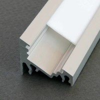 Aluminium hoek profiel 2 meter 60/30 graden