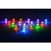 LED Oorbellen met Ster in diverse kleuren
