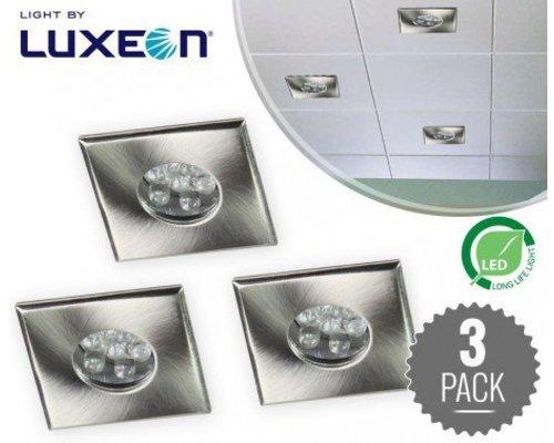 XQ-lite LED inbouw spot set 3 stuks