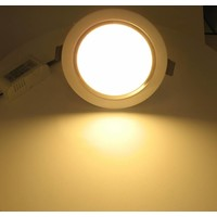Dolphix LED Downlight - Warm Wit - 9 Watt - incl. driver - wit