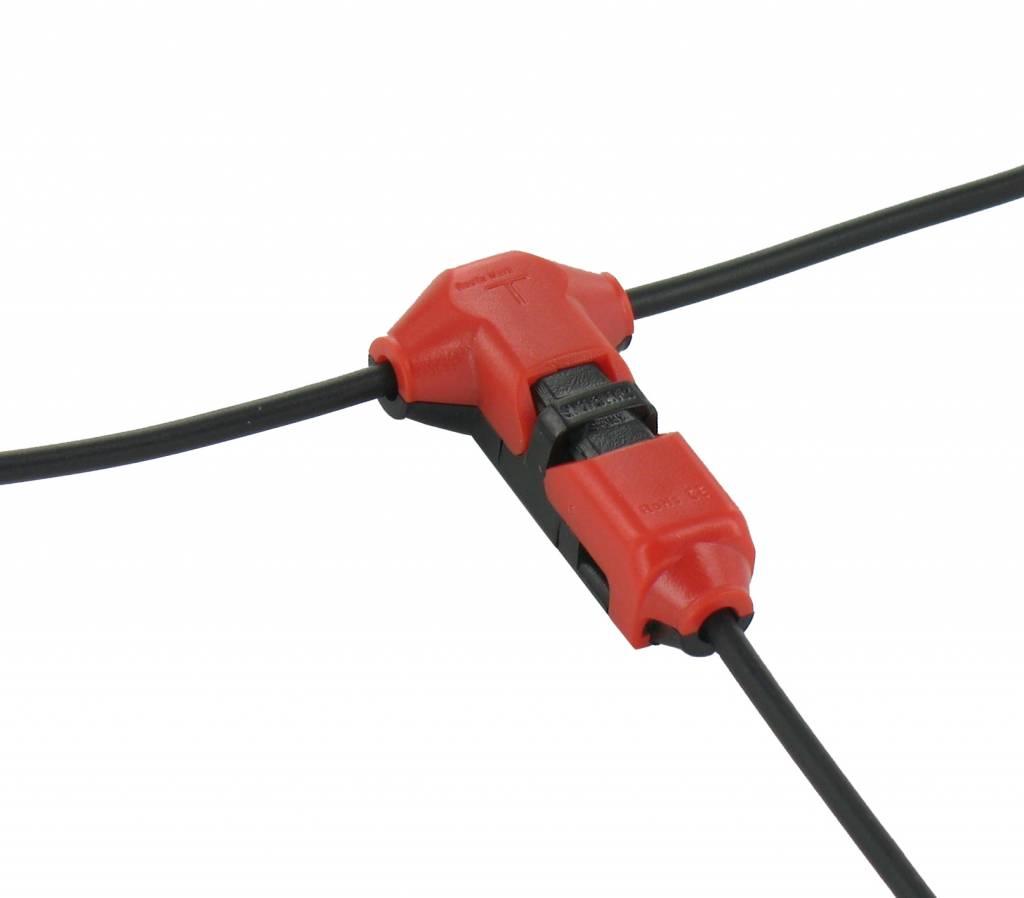 Kabel klem enkelvoudig splitsen