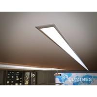 Lumines Aluminium Inbouw Profiel 1 meter - Architectonisch