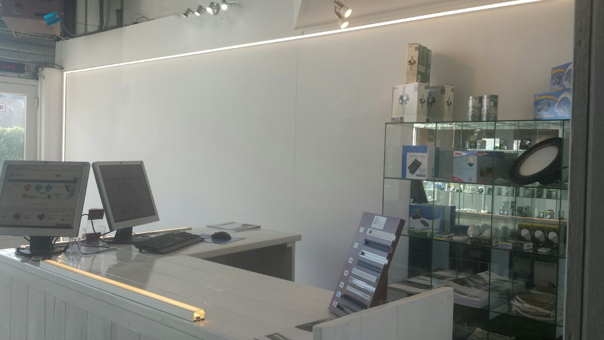 LED Strip Showroom Twello