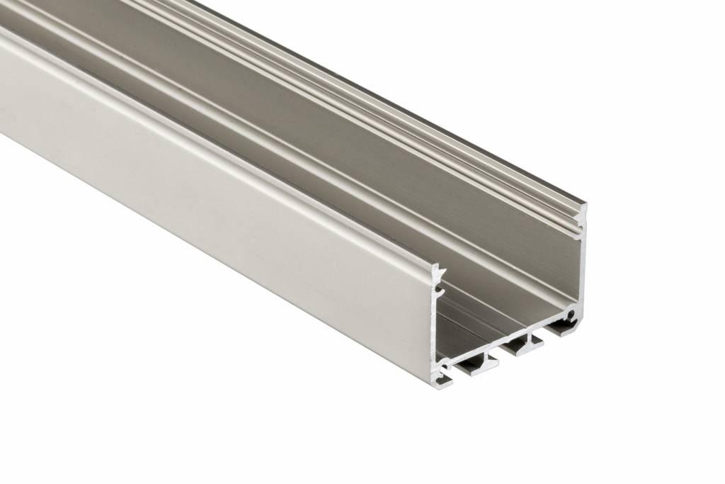Dit extra brede opbouw profiel is speciaal geschikt voor architectonische doeleinden zoals plafonds, hang ...