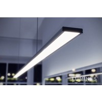 Lumines Aluminium Slim Opbouw Profiel - Architectonisch 1 Meter