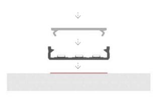 Architectonisch opbouw profiel 4