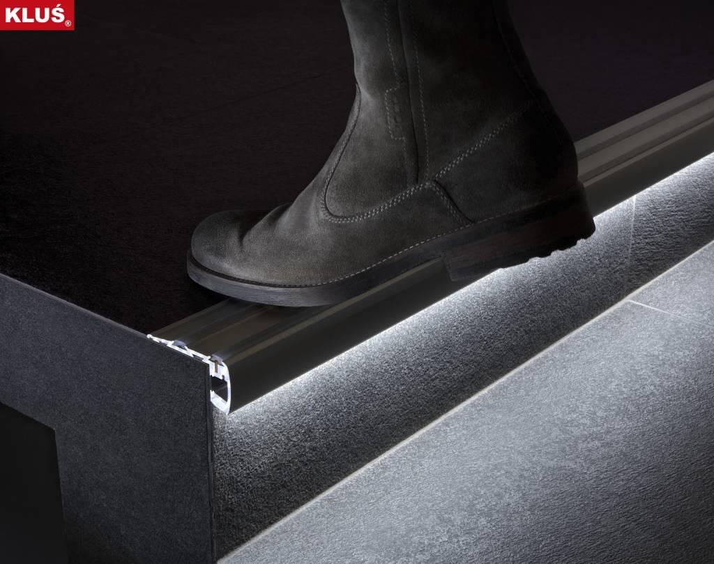 Aluminium Profiel voor Traptreden \'Step\' | LEDStripXL