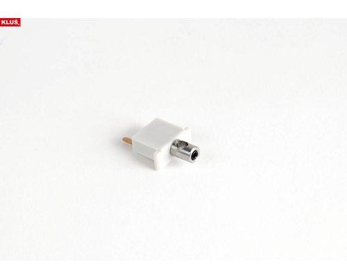 KLUŚ Design Elektriciteit geleidende eindkapjes MICRO-ALU V2