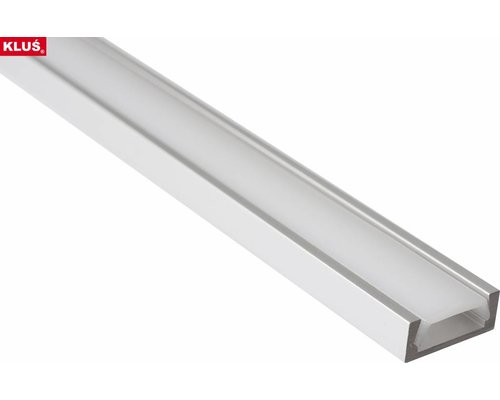 KLUŚ Design Aluminium opbouw profiel 1 meter slimline 6mm