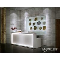 Lumines Aluminium Profiel XL Opbouw 1 meter geanodiseerd