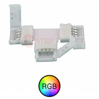RGB LED Strip connector T-splitsing koppelstuk, splitsen zonder solderen