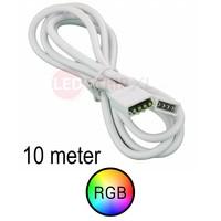 Verlengkabel 10 meter voor RGB LED Strips 4-aderig