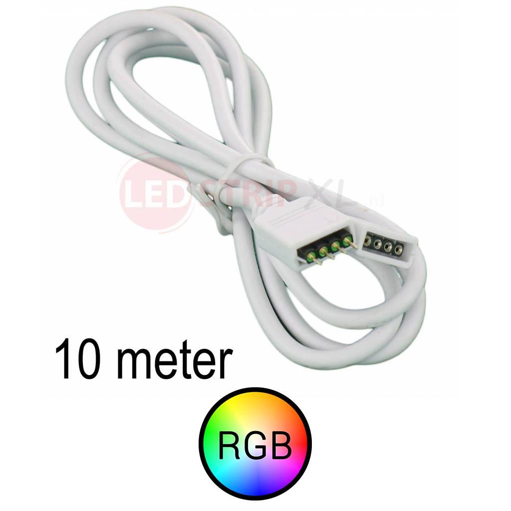 RGB LEDStrip Verlengkabel 10 meter