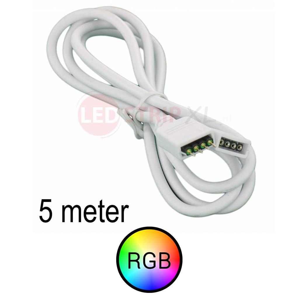 RGB LEDStrip Verlengkabel 5 meter