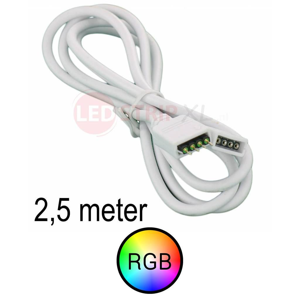 RGB LEDStrip Verlengkabel 2.5 meter