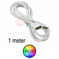 Verlengkabel 1 meter voor RGB LED Strips 4-aderig