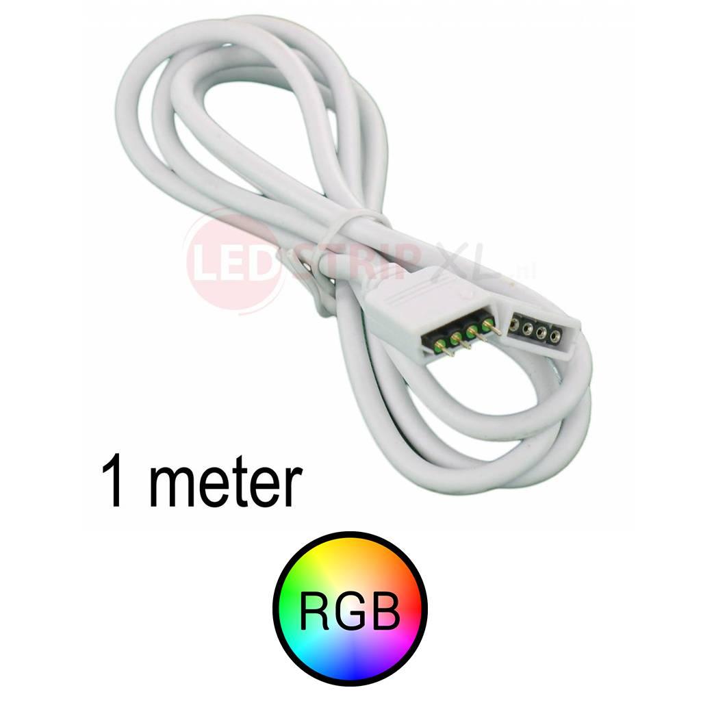 RGB LEDstrip Verlengkabel 1 meter