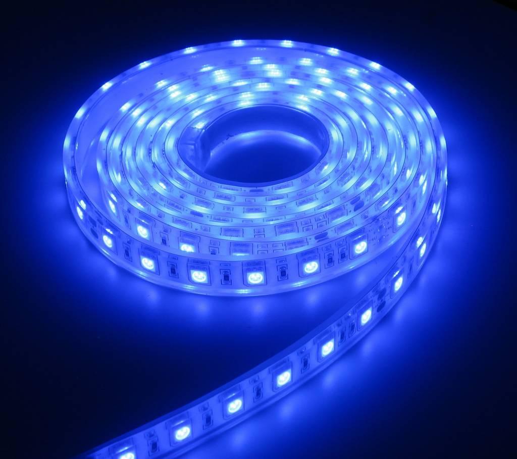 aquarium ledstrip extra bright blauw 150cm 24v ledstripxl. Black Bedroom Furniture Sets. Home Design Ideas