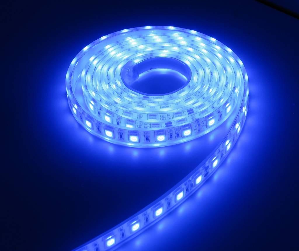 Aquarium LEDStrip Extra Bright Blauw 150CM 24V | LEDStripXL