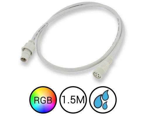 RGB Verlengkabel 150cm Waterdicht voor Aquarium LED Strips