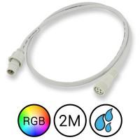RGB Verlengkabel 200cm Waterdicht voor Aquarium LED Strips
