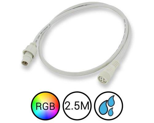 RGB Verlengkabel 250cm Waterdicht voor Aquarium LED Strips