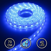 Aquarium LED Strip Extra Bright Blauw 70CM 24V