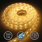 Aquarium LEDStrip Extra Bright Warm Wit 200CM