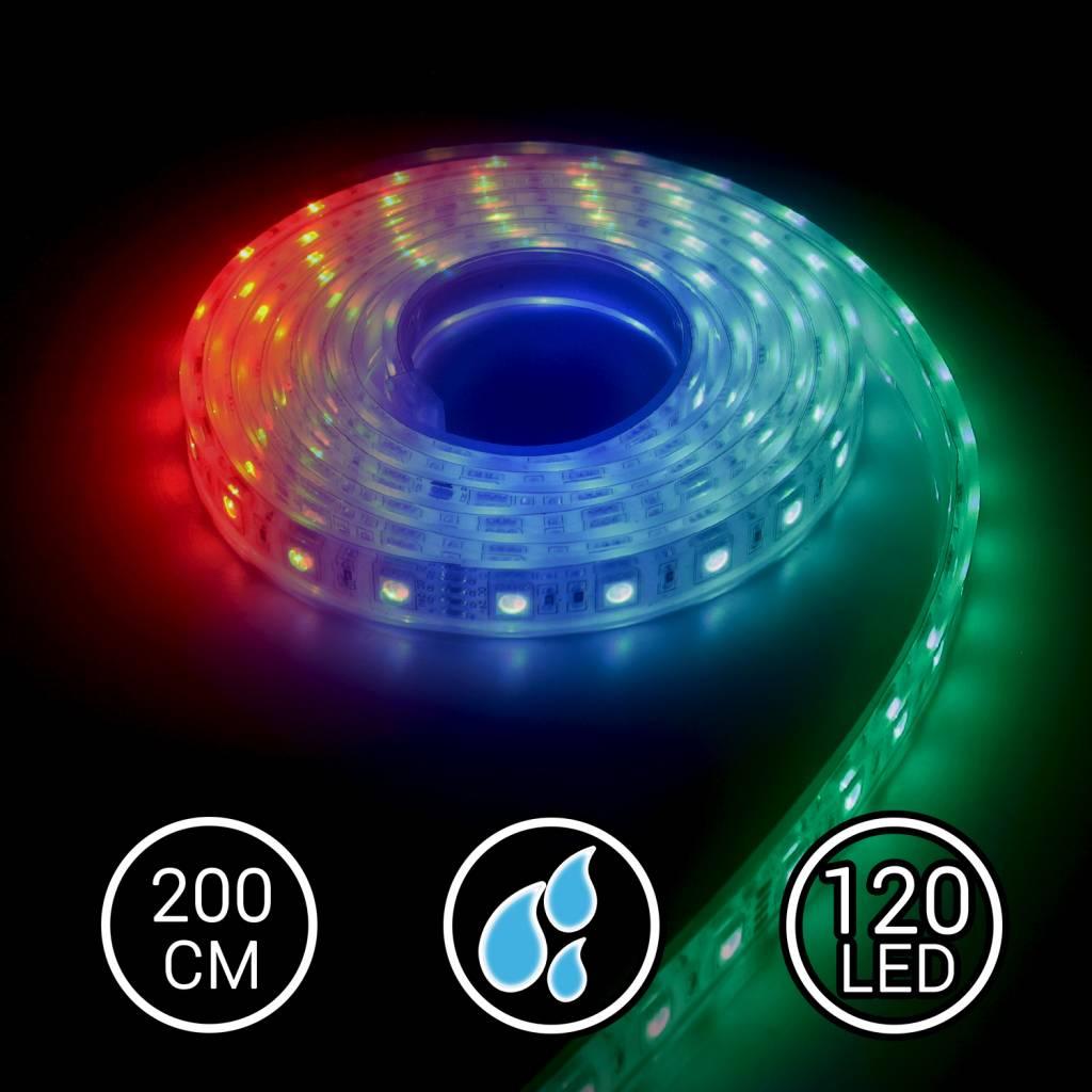 Aquarium LED Strip RGB 200CM Multi-Kleur
