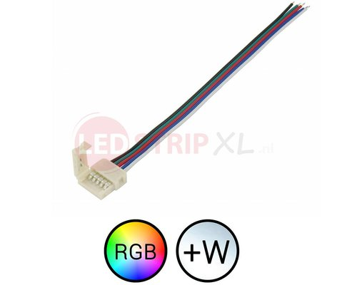 Klik Connector met draad voor RGBW LED Strips
