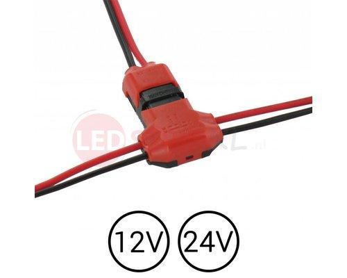 Kabel klem 2-voudig splitsen trap trede verlichting | LEDStripXL