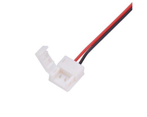 ledstrip Koppelstuk naar 2-aderig enkelkleurige signaal kabel