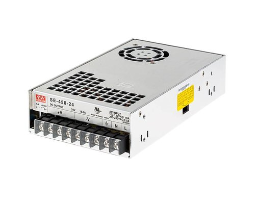 Mean Well LEDStrip Transformator 24 Volt 18.8 Ampère 450W