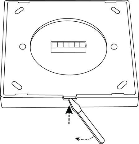 Dual White 0-10V touch paneel installatie 1