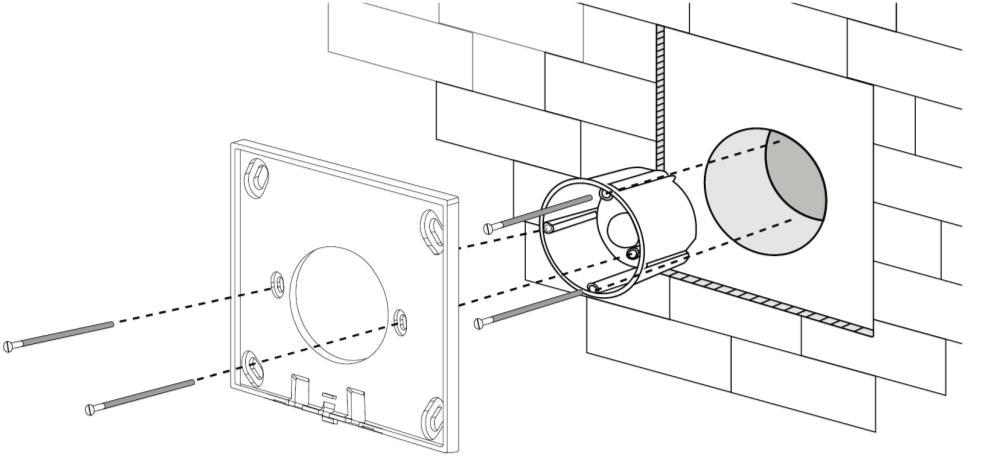 Dual White 0-10V touch paneel installatie 2