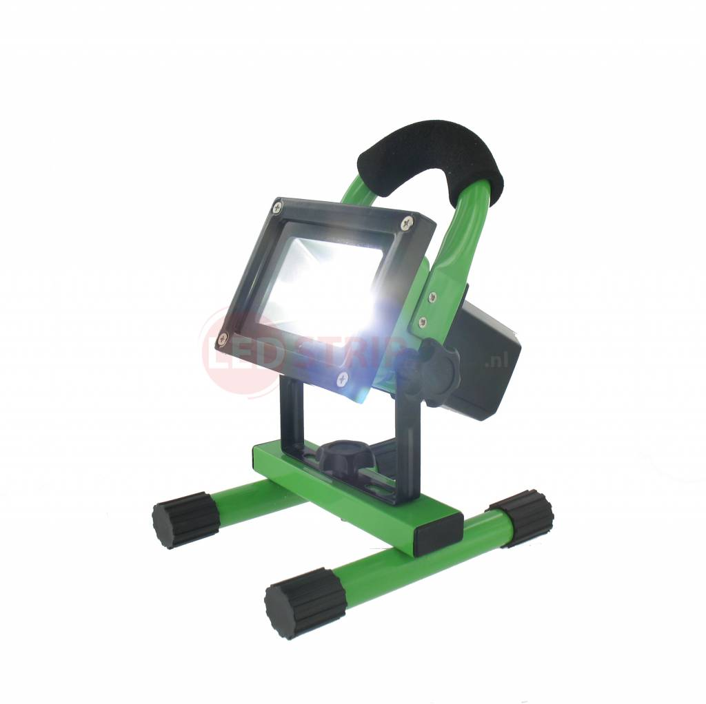 oplaadbare led bouwlamp 20 watt ledstripxl. Black Bedroom Furniture Sets. Home Design Ideas