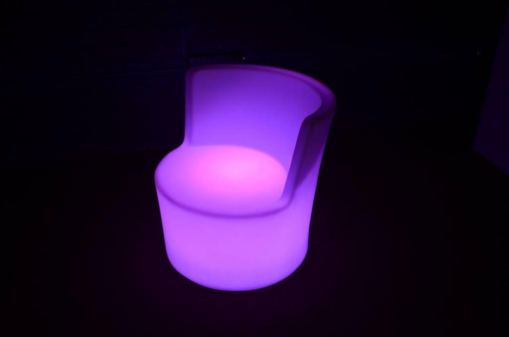 LED Stoel met rugleuning