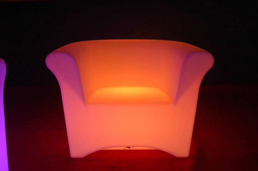 Luxe LED Sofa XXL 108x76x76cm