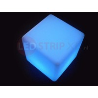 LED Kubus 80CM oplaadbaar met RGB Kleuren en IR Afstandsbediening