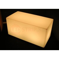 Multifunctionele LED Bank of Tafel 100 x 50 x 50 CM